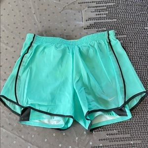 Nike Dri-Fit Built-In Briefs Mint Running Shorts